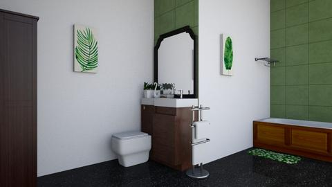 Slightly boho bath - Bathroom - by Perpetto