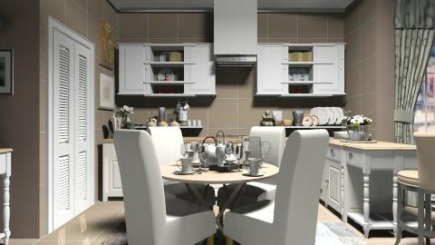 brown - Kitchen - by alle_dv