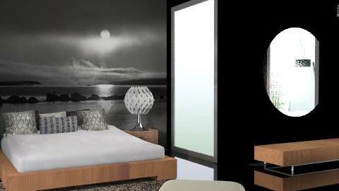night - Minimal - Bedroom - by chania