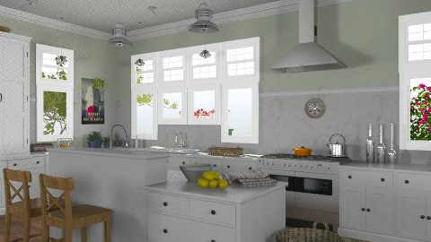 Cape Cod Kitchen - Classic - Kitchen - by LizyD