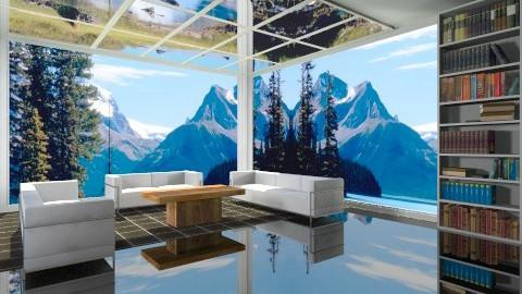 Livin black n white - Modern - Living room - by Jacquie Ru