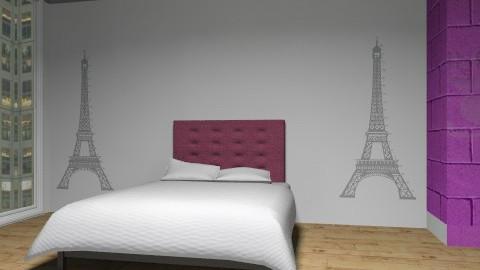 bedroomparis - Modern - Bedroom - by Caitlin Johnston