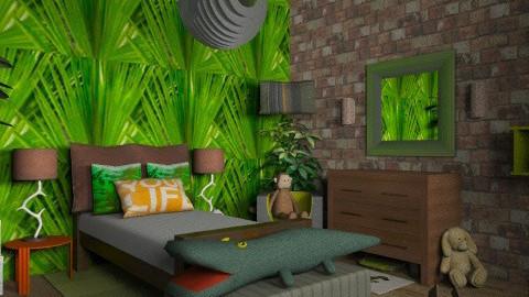 Jungle Room - Kids room - by joeyjojojunior