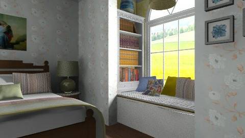 Cozy Reading Spot - Classic - Bedroom - by chloedaniella
