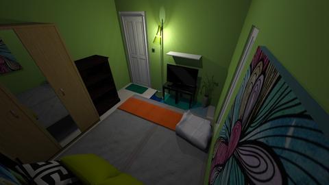okays shelter  - Minimal - Bedroom - by masokay04