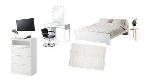 Bedroom - by michicontreras