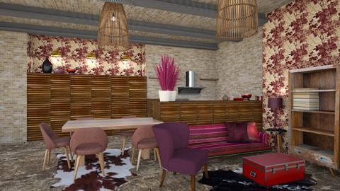 rustic2 - Living room - by macus
