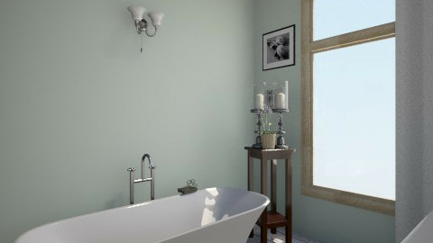 First Part 3 - Country - Bathroom - by Valeriesalaets