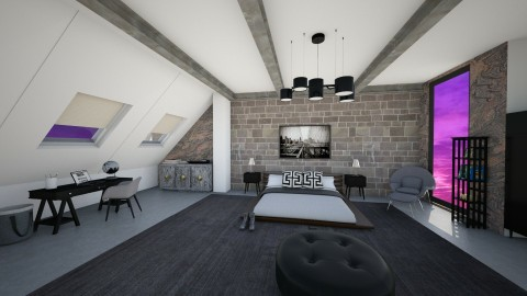 my room - Modern - Bedroom - by nuray kalkan