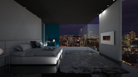 Modern Bedroom - Modern - Bedroom - by FabulousGirl35