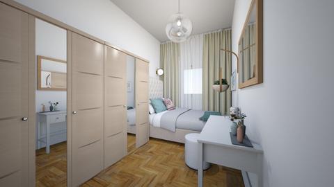 sypialnia 1 - Bedroom - by Kaamsoon