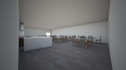 Cafe - Kitchen - by IslaLyn