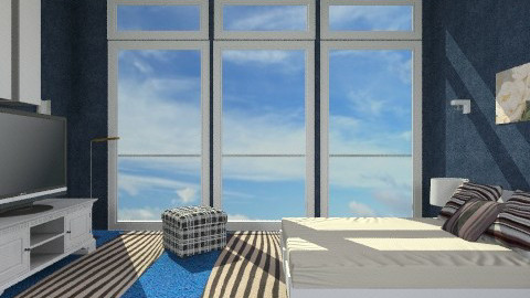 sand Beach - Minimal - Bedroom - by milyca8