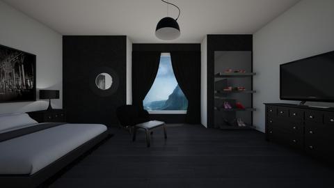 lovely ebony - Modern - Bathroom - by AmariTendo