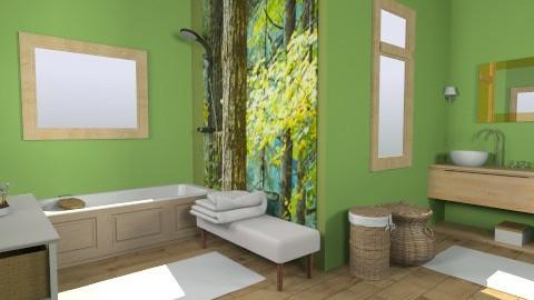 cotage bathroom - Country - Bathroom - by dim