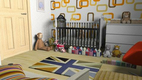 Guy Stockwell - Retro - Kids room - by guystockwell