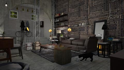 Cellar living - Living room - by ZuzanaDesign