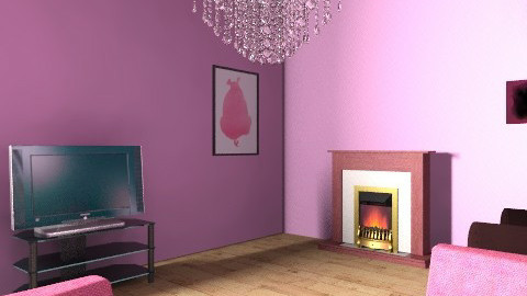 My dream lounge - Living room - by Emiliee