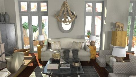 kifissia2 - Classic - Living room - by naki1