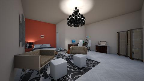 Master dream room AB - Modern - Bedroom - by Ahmedb