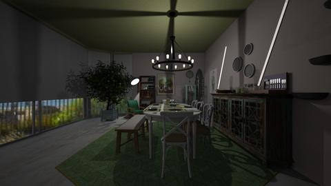 Green fingers - Dining room - by Lolo Loves Interior Design
