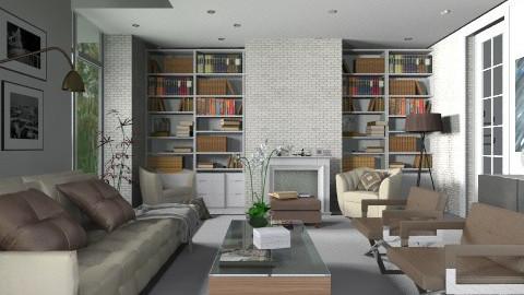 living room - Glamour - Living room - by paulina herrera