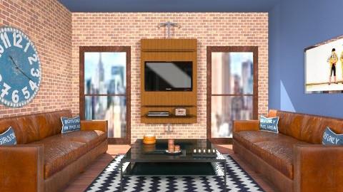 citizent II - Living room - by vesperis