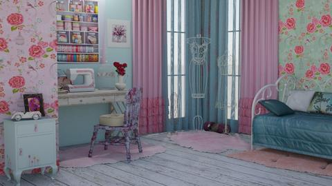 Sweing Room By Samrah - Vintage - by Sam Raa