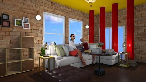 living room - Living room - by Ha Yat Oua Mane