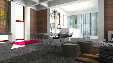 winter retreat - Eclectic - Living room - by kukimag