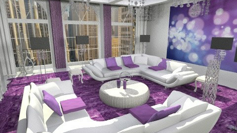 New liv 1 - Glamour - Living room - by bisertanya
