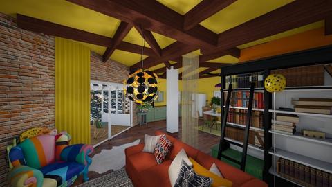 kotage living room - by Moriia