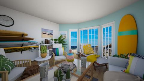 Surf Living Room - Living room - by tokage