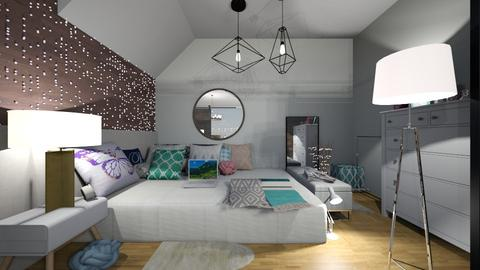 my bedroom idea - Bedroom - by carmenouloulou