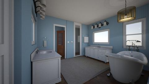 Master Bath - Bathroom - by amynell72