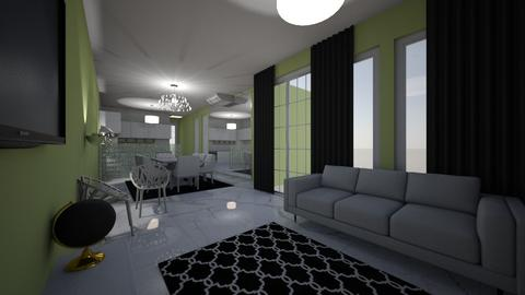 casinha - Masculine - Living room - by kelly lucena