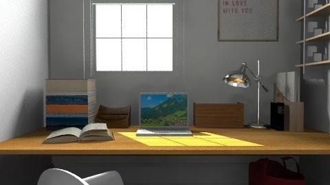 Office - Modern - Office - by camilla_saurus