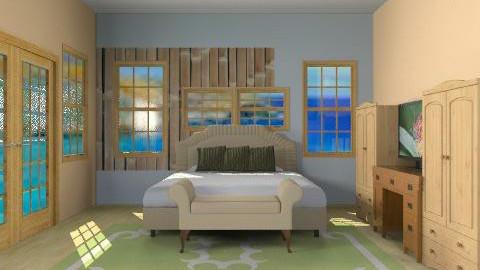 Hawaii Resort - Modern - Bedroom - by yankees2