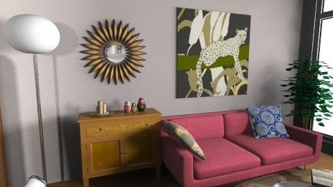 San Jose Utopica sala2 - Living room - by Arianis Gutirrez Vannucci