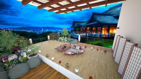 terrace garden - Glamour - Garden - by genie23