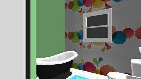 k bnio - Retro - Bathroom - by Littlemisweetnes