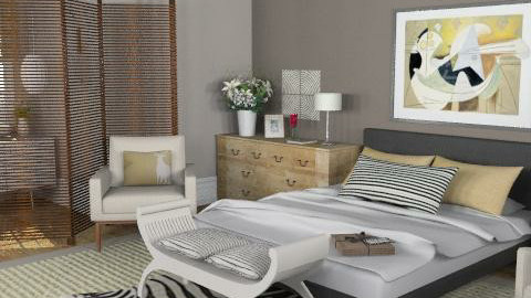 House - master suite - Eclectic - Bedroom - by du321
