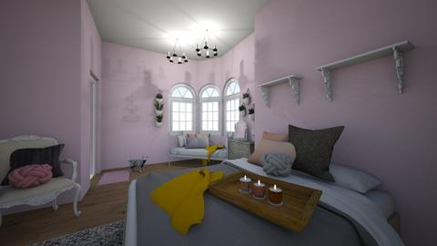 Shabby Chique Bedroom - by ellarowe224