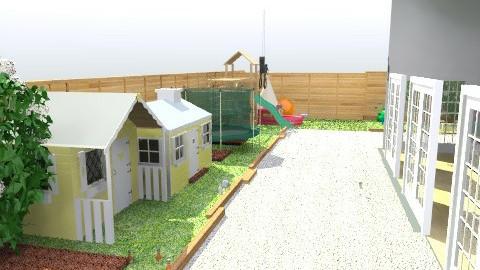 Beths Garden - Eclectic - Garden - by Tom Chapman