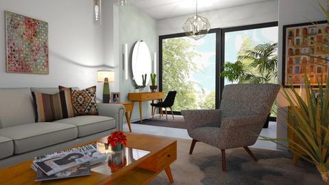 M_H - Modern - Living room - by milyca8