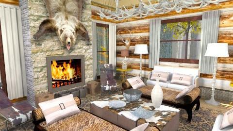 hunting lodge - Country - by bisertanya