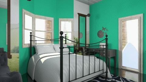 Marlennna - Minimal - Bedroom - by KarolinaZ