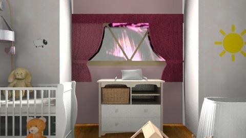 Nursery - Girl - Classic - Kids room - by SierraL
