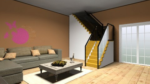 Living room - Modern - Living room - by prettygurlmya