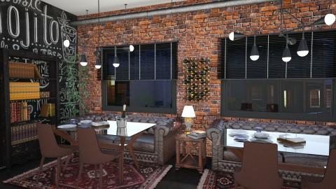 Cozy Restaurant - Rustic - by soniagoncalves